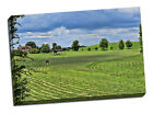 Farm ploughing canvas print tractor fields gift christmas xmas