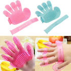 Novelty Pet Wash Brush Glove Grooming Cat Bath Soft Massage Tool Dog Supplies