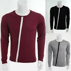 Mens Clothing Long Sleeve Slim Fitted T-Shirt And Top Casual Fashion Shirt