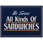 All Kinds Of Sandwiches Deli Wall Decal Diner Restaurant Decor