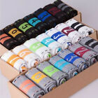 7 Pairs Men's Lot Fashion Casual Dress Socks Cotton Ankle Week Crew Socks H