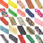 Natural Gemstone Opal Spacer Loose Beads Round Stone DIY 4-12mm Jewelry Making