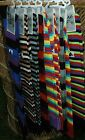 Flirt Striped Long OVER THE KNEE Socks Fancy Dress SOCKS 4 5 6 7 UK