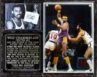 Wilt Chamberlain #13 Los Angeles Lakers 2-Time NBA Champion Photo Plaque Center