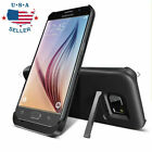 4200mAh External Power Charging Battery Case Cover F Samsung Galaxy S6/S6 edge