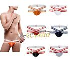 Men New Fashion Jockstrap Underwear T-Back G-String Briefs Sexy Pouch Thong M-XL