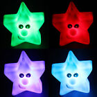 7 Colors Changing LED Night Light Lamp Decoration Nightlight Christmas Gift