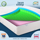 "12"" Cool & Gel Memory Foam Mattress FULL QUEEN KING CAL KING - Medium-Firm"