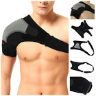 BRAND NEW SHOULDER SUPPORT STRAP NEOPRENE PAIN BRACE INJURY ARTHRITIS GYM SPORT