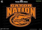 Florida Gators Nation University Football NCAA Vinyl Decal Car Sticker Wall SEC