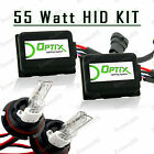 55W HID Head Light Hi Lo Xenon Lights Slim Kit Plug N Play Bulb Size - 9007 HB5