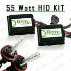 55W HID Fog Lights Xenon Light Slim Kit Plug N Play Bulb Size - H8