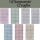10mm Googly Eyes with Eyelashes Wiggly Moving - Self Adhesive - 7 Colour Choice