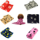 Hot Sale New Cute Pet Dog Cat Paw Print Soft Blanket Puppy Kitten Bed Mat Cover