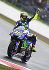 Valentino Rossi - Yamaha 2015 - A1/A2/A3/A4 Photo/Poster Print - Silverstone #12
