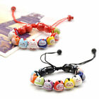 Lovely Ceramic Charm Lucky Fortune Money Cat Bracelet Beaded Bangle Handmade