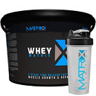 WHEY PROTEIN POWDER - MUSCLE GROWTH - SMOOTH COCONUT - 2 SIZES BY MATRIX