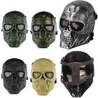 Army Skull Skeleton Airsoft Paintball Mask Full Face Cover CS Game Tactical gear