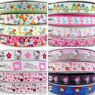 "2Yard 10Yard Cartoon Kitty Grosgrain Ribbon Craft 22mm25mm(7/8""& 1"") 16 designs"