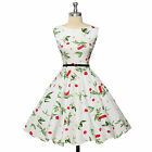 VINTAGE Style Swing Retro 50s 60s Pinup Housewife Evening Prom Dress