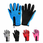 RockBros Winter Full Finger Gloves Long Bike Cycling Gloves Texting Touchscreen