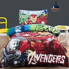 Licensed Marvel Avengers Single Double Superhero Bed Quilt Duvet Cover