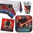 Star Wars The Force Awakens Movie Birthday Party Plates Cups Tableware Listing £3.35 GBP