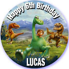 THE GOOD DINOSAUR Edible Personalised Cake Topper A4 Icing Sheet Wafer Paper