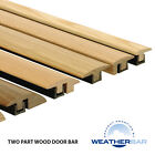 Solid Wood, Height Adjustable Profiles, Trims, Door Bars & Cover Strips - 2700mm
