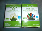 Holiday Time 60 LED Lights - 16 Functions - You Choose - Multi-Color or White