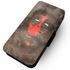 Che Deadpool Inspired Parody - Printed Faux Leather Flip Phone Cover Case