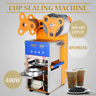 Cup Sealing Machine 400w LCD Display Tea Coffee Packaging Fresh Juice