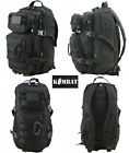 Army Militray Combat Rucksack Molle Travel Back Day Pack Backpack 28L Black