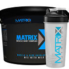 MATRIX MUSCLE WHEY COMPLEX PROTEIN POWDER DRINK SHAKE - VANILLA - ALL SIZES