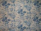 Laura Ashley Botanical Toile fabric by the yard  multiple colors and yardage