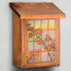 America's Finest Mailboxes English Ivy Wall Mounted Mailbox with Rain