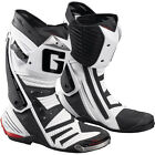 Gaerne GP1 Road Racing Street Boots White Perforated