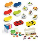 Kids Fun Novelty Rubber Eraser Set Party Bag Filler Children Gift Stationery Car