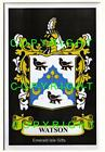 WATSON Family Coat of Arms Crest - Choice of Mount or Framed
