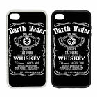 Darth Vader Whiskey- Rubber and Plastic Phone Cover Case - Parody Design