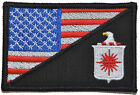 CIA Central Intelligence Agency USA Flag 2.25 x 3.5 inch Morale Patch Military