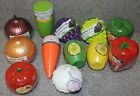 Fruit & Vegetable Storage Saver Containers Onion Tomato Grape Celery Lemon Lime