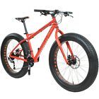 "26"" x 4.0"" Fatbike Bottecchia 140 18-Gang Fat Tyre Senales orange RH: 44, 48, 52"