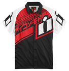Icon Hypersport Mens Short Sleeve Shop T-Shirt Red/Black/White