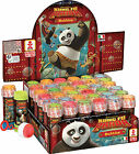 KUNG FU PANDA BUBBLES - Select Quantity (Party Bag Fillers/Toys & Games/Kids)