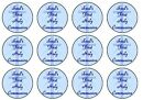 1st First Holy Communion Blue Fairy /Cup Cake Toppers Rice Paper or Icing