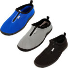 Внешний вид - Mens Water Shoes Aqua Socks Slip On Flexible Pool Beach Swim Surf Zipper Yoga