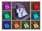 Glowing Bottles stand, Bar steps for bottles,  LED Lighted bar,  3 Tier