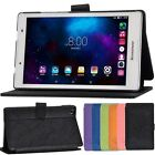 """New PU Leather Stand Flip Cover Case For 8""""Lenovo Tab 2 A8-50F A8-50LC+Protector"""