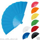 25 x Handheld Pretty Fan Wedding Accssory & Favour Fabric Summer Keep Cool Hand